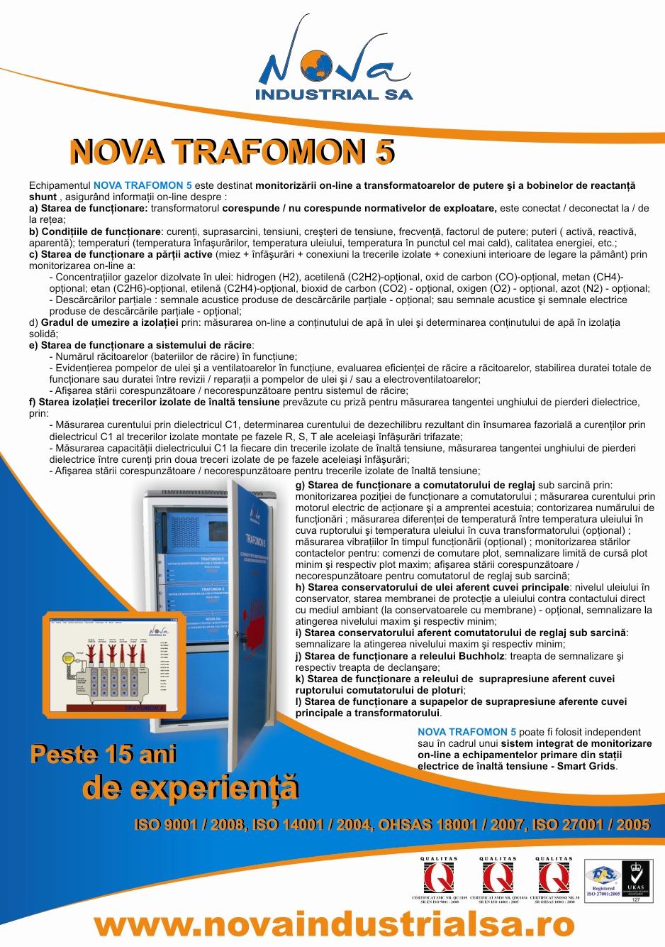 NOVA TRAFOMON 5