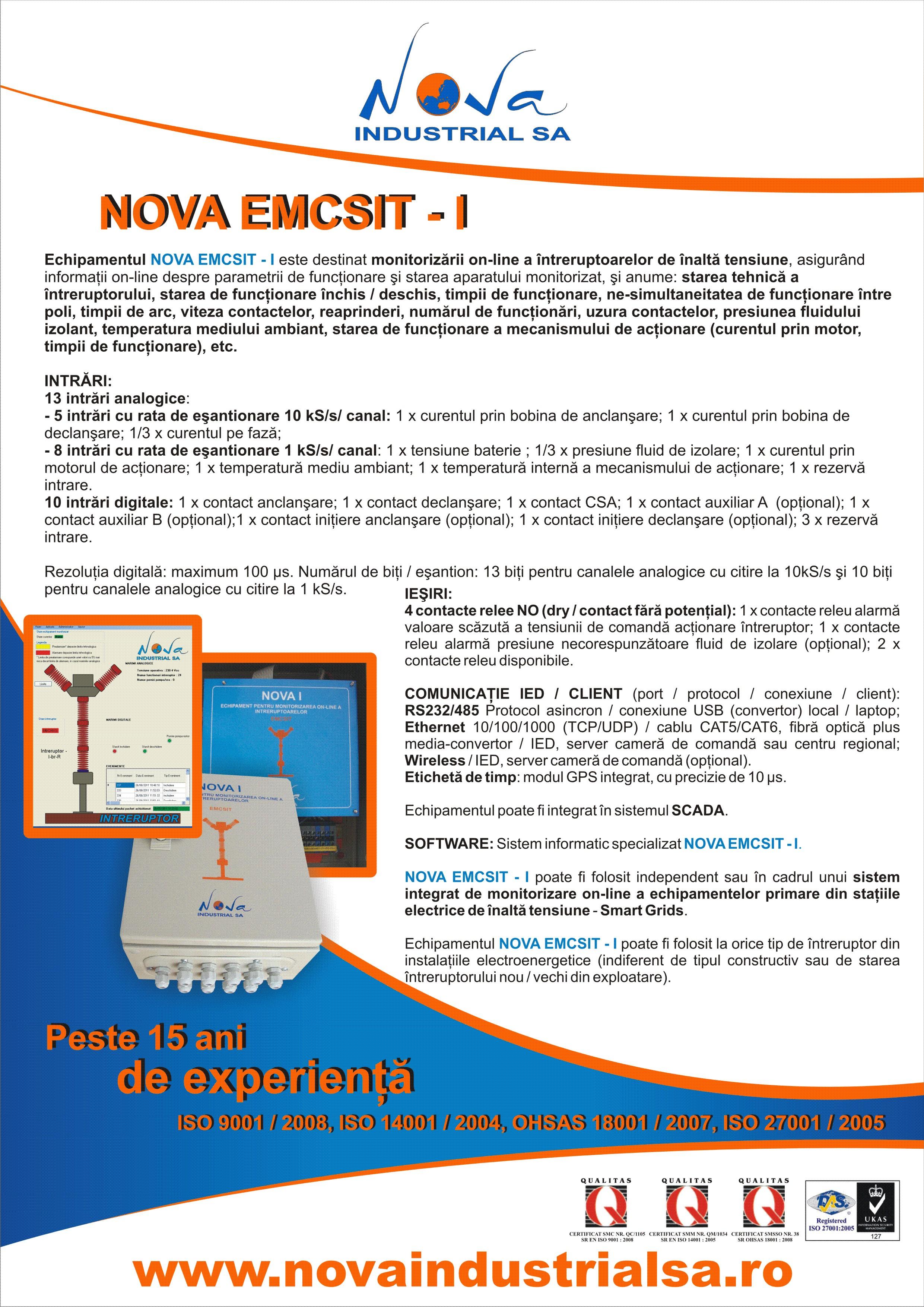 NOVA EMCSIT - I