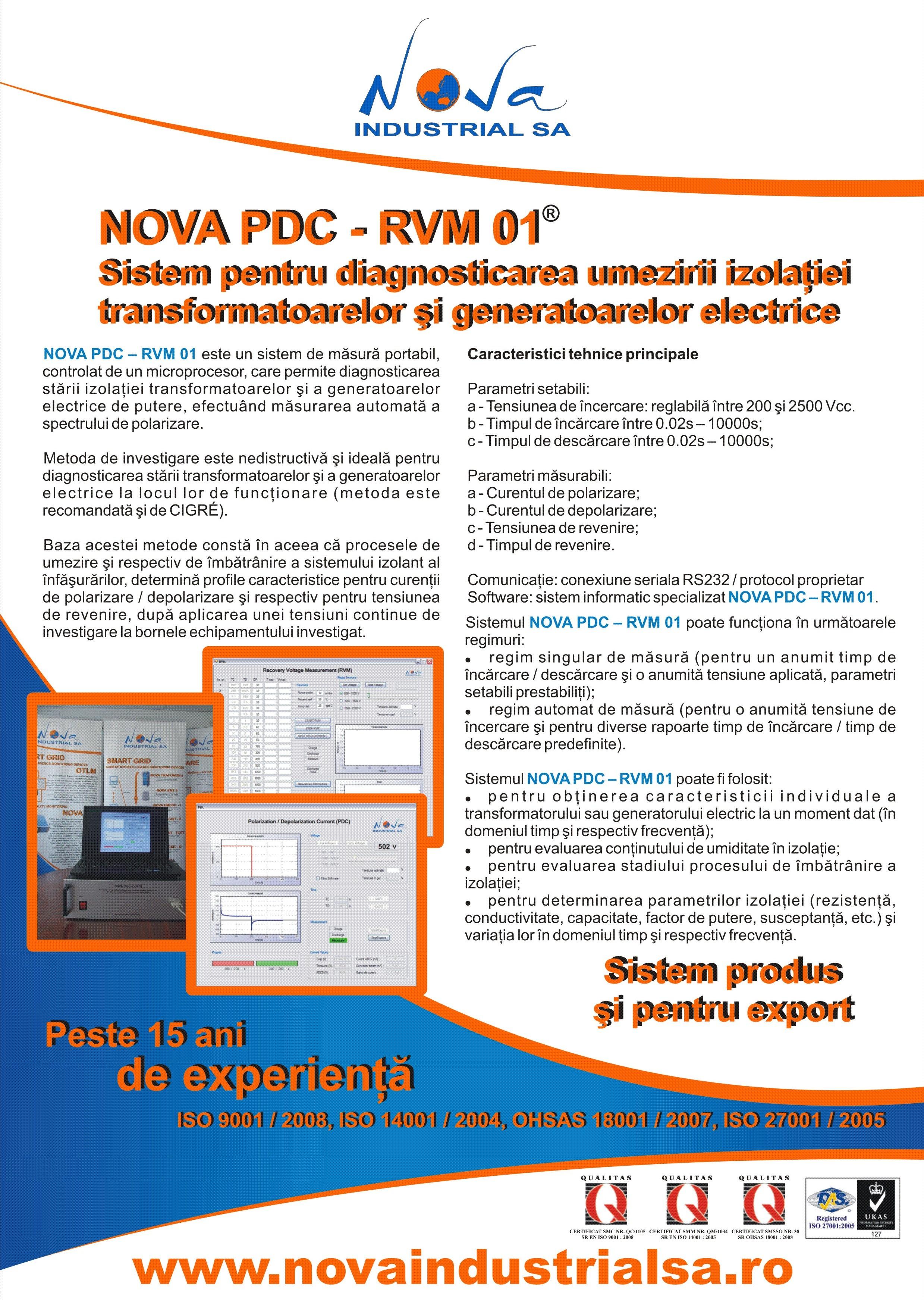 NOVA PDC / RVM 01