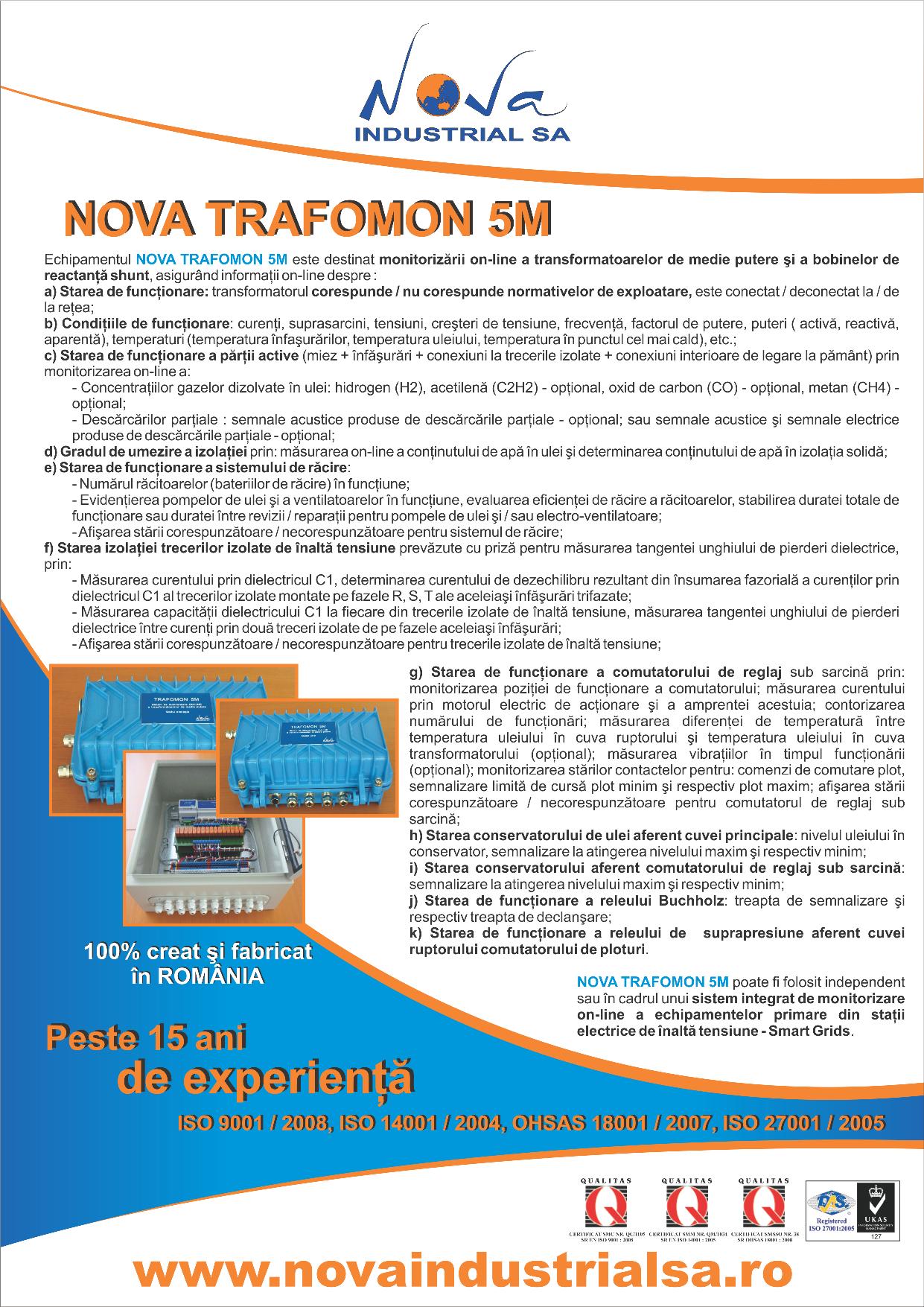 NOVA TRAFOMON 5M